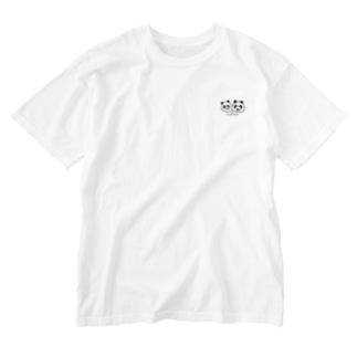パンダパンダ Washed T-Shirt