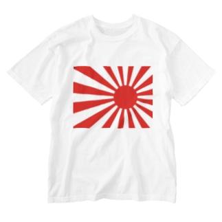 【一番人気!!】旭日旗グッズ Washed T-shirts