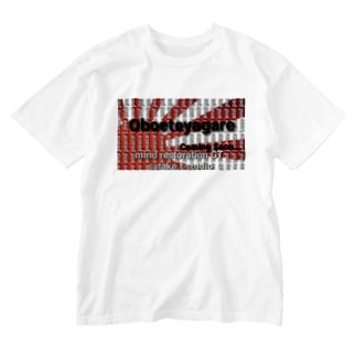 Oboeteyagare Love and peace Washed T-shirts