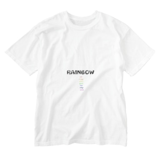 RAINBOW Washed T-shirts