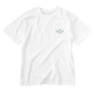 No Choco Mint No Life ワンポイント Washed T-shirts