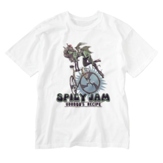 """""""SPICY JAM"""" (green) Washed T-Shirt"""