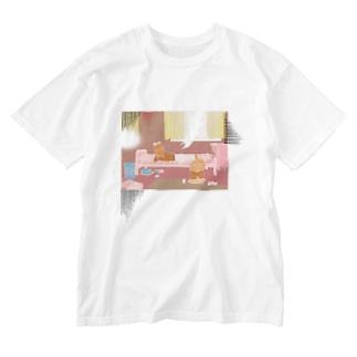 西日の部屋 Washed T-Shirt