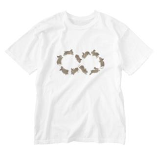 ごきげん無限大ダンス Washed T-shirts