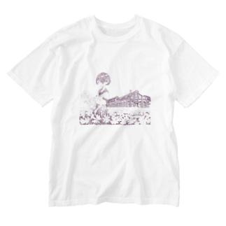 丸山変電所 Washed T-Shirt
