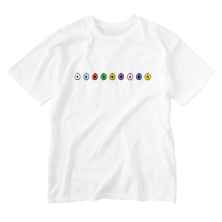 伊勢やまだ大学の雫 Washed T-shirts