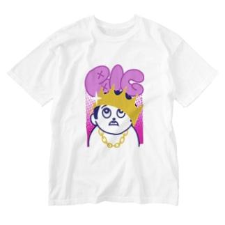 BIG ビッグ 232 Washed T-Shirt