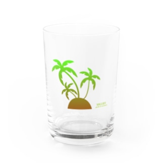 MIGERY ヤシの木 Water Glass