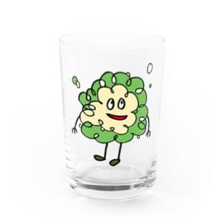 n_airのクリームソーダ Water Glass