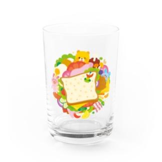 サンドイッチ Water Glass