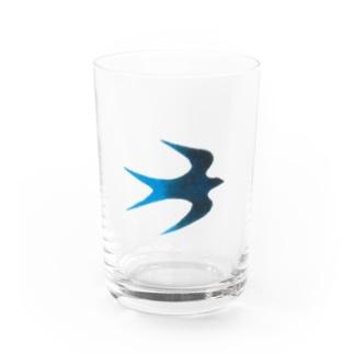 青い鳥 Water Glass