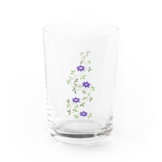 鉄扇の花 Water Glass