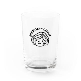 マロンちゃん Water Glass