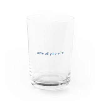 come  as you are Water Glass