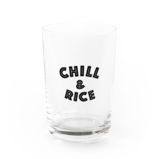 CHILL & RICE Water Glass
