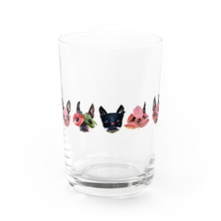 nicomuni葉っぱ仮面2 Water Glass