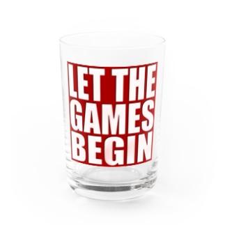 キューカンバー・ガールのLet the games begin. Water Glass
