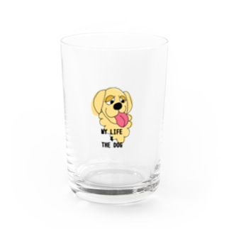MY LIFE 4 THE DOG Water Glass