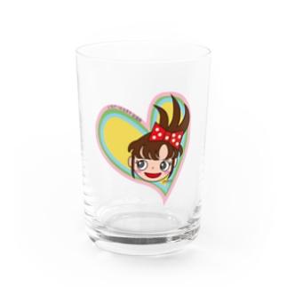 ハートの台子 Water Glass