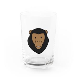チンパンジー Water Glass