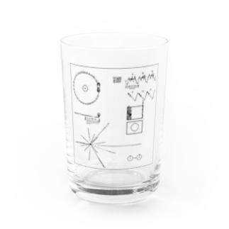 ボイジャーのゴールデンレコード Water Glass