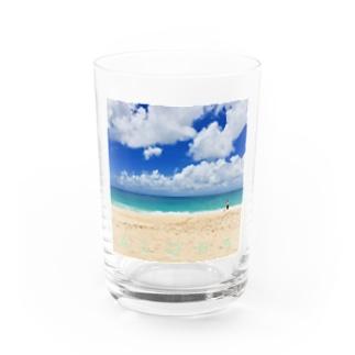 FEEL ALOHA Water Glass