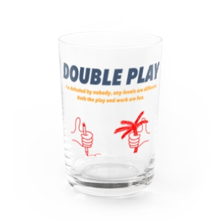 DOUBLE_PLAYのwork × play color Water Glass