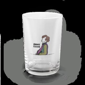 mksnのDRAW FAKE LOVE SUGA Water Glass