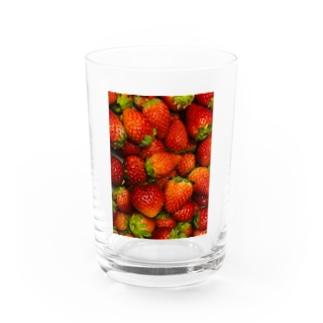 あいらぶすかいべりー Water Glass