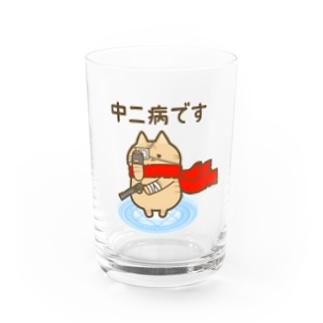 中二病猫さん Water Glass