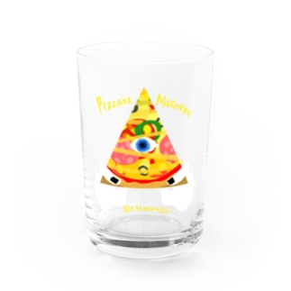 PIZZAAA Water Glass