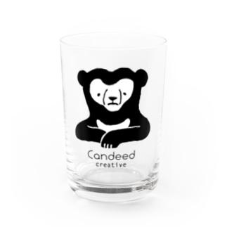 マレーグマ(ロゴあり) Water Glass
