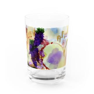 grape Love Water Glass