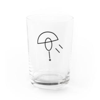 Dandelion fluff...? Water Glass