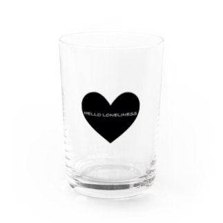 孤独よこんにちは Water Glass