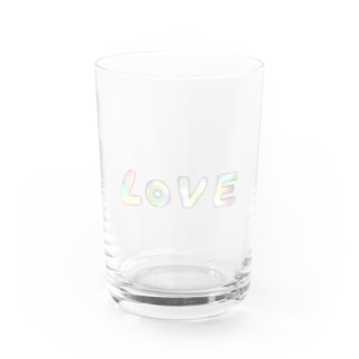 LOVE Water Glass