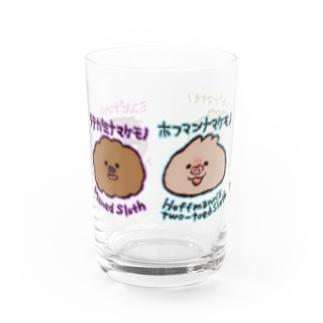まいにちナマケモノ図鑑 Water Glass