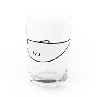 ししゃも Water Glass