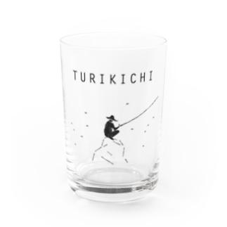 釣り人専用デザイングッズ「ツリキチ」 Water Glass