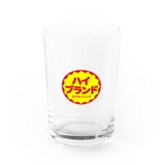 ハイブランド(red) Water Glass