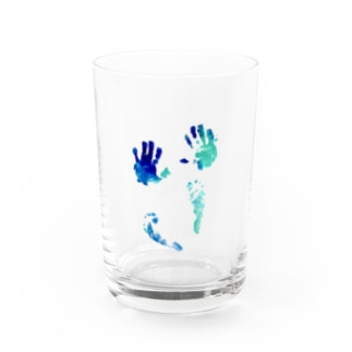 hand and foot Water Glass