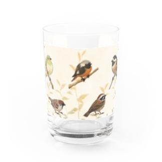 野鳥 Water Glass