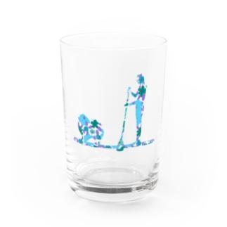 Supdog ポメラニアン Water Glass