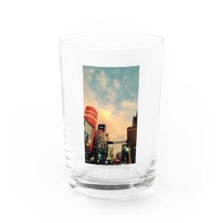 街角池袋① Water Glass