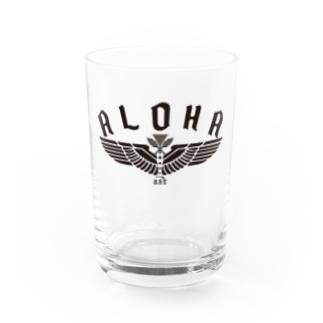 Aloha Wing Water Glass