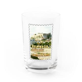 ギリシャ:アテネのアクロポリス★白地の製品だけご利用ください!! Acropolis of Athens/Greece★Recommend for white base products only !! Water Glass