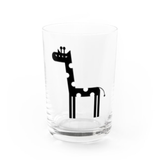 オ ザ むのANIMALシリーズ きりん Water Glass