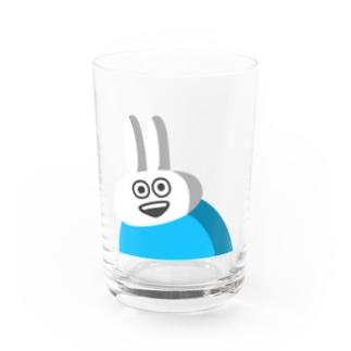 STUDYのショップのウザギさん Water Glass