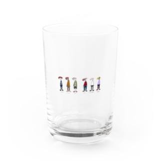 sushi人間(カラー) Water Glass