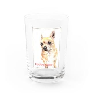 My Precious チワワ Water Glass